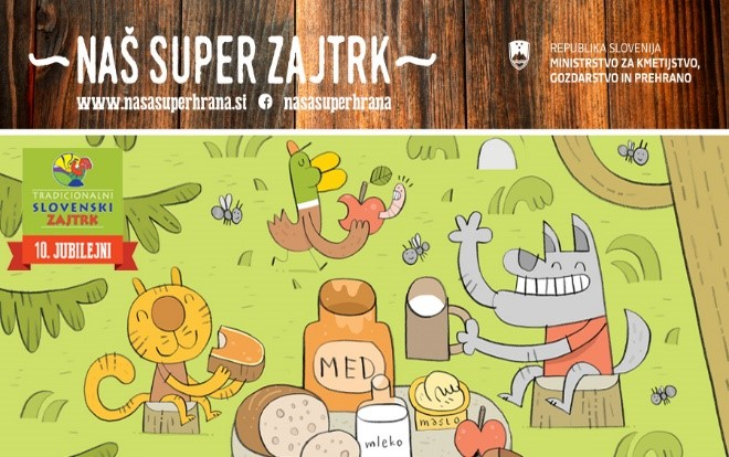 Tradicionalni slovenski zajtrk in dan slovenske hrane